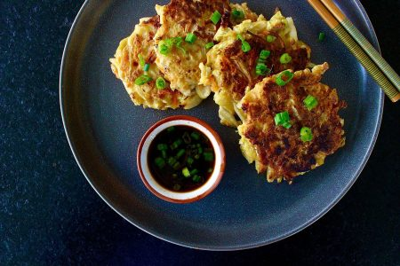 Napa Cabbage Fritters