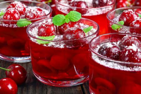 Cherry Bourbon Drink
