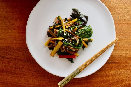 Rainbow Chard Stir-Fry