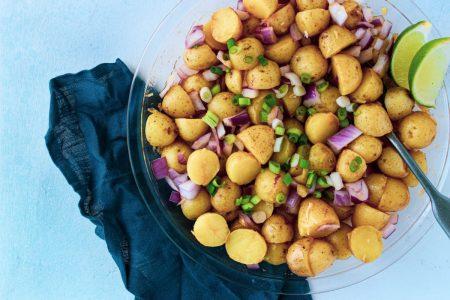 Asian Potato Salad