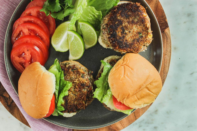Salsa Veggie Burgers