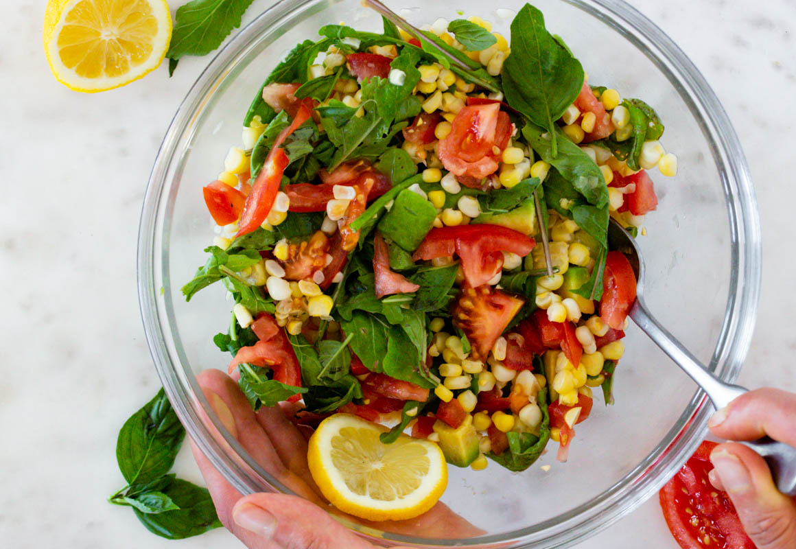 Corn and Avocado Salad