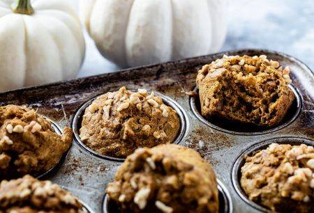 Whole Wheat Butternut Squash Muffins