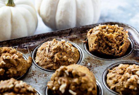 Whole Wheat Butternut Squash Muffins