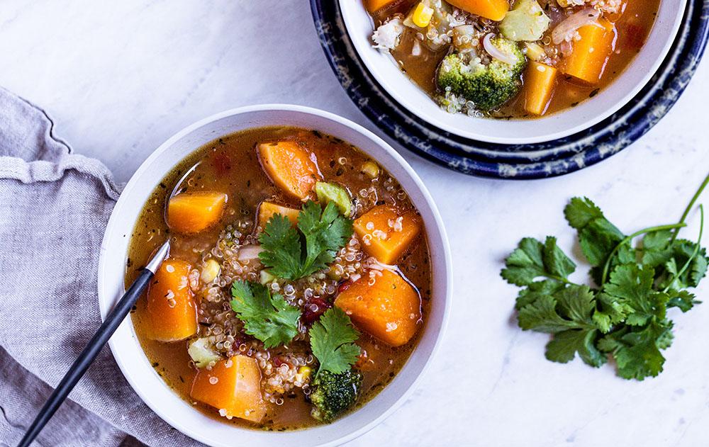 Butternut Quinoa Soup