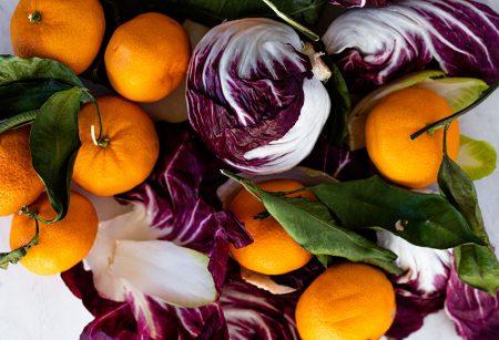 Chicory Salad with Satsumas