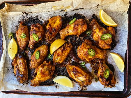 Spiced Serrano Wings