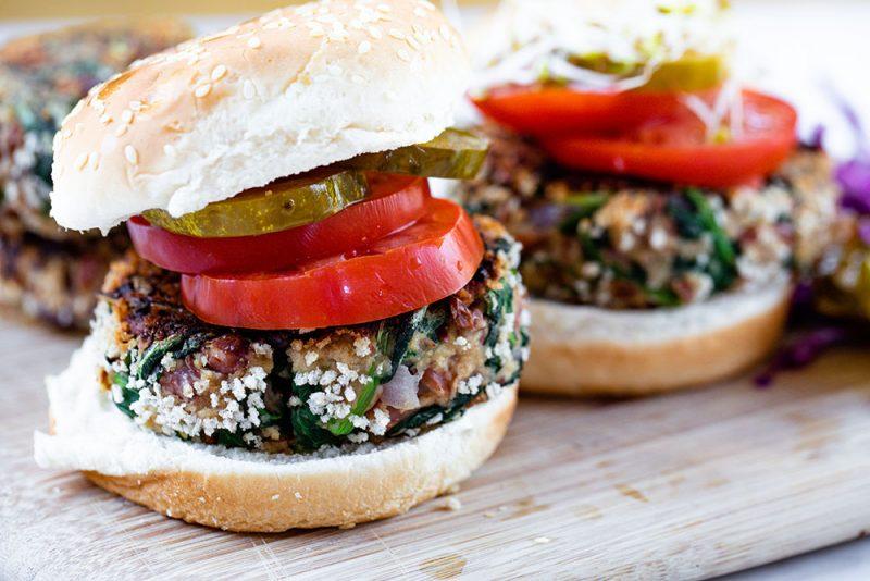 kale veggie burgers